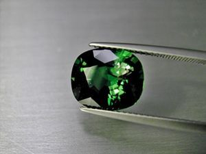 chrom turmalin 4.37 ct.