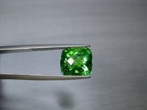 tsavorit antik 6.59 ct.